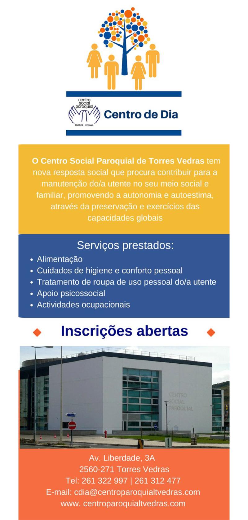 Flyer Centro de Dia